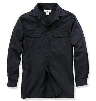 Carhartt Hemd aus Baumwolle-Twill