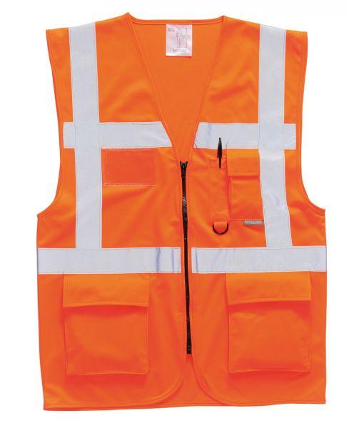Warnschutzweste Executive gelb oder orange