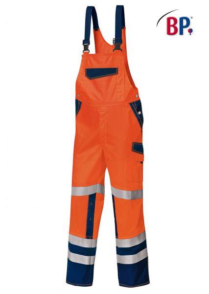 BP Warnschutz Latzhose 2011 orange blau