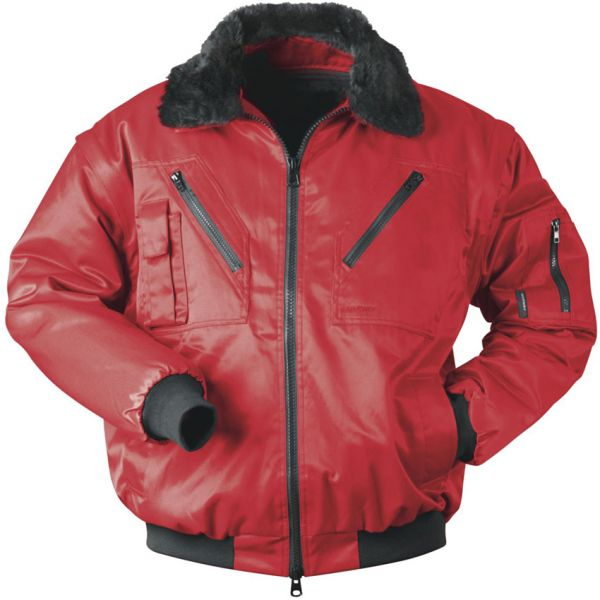 Pilotjacke Norway rot Multifunktion