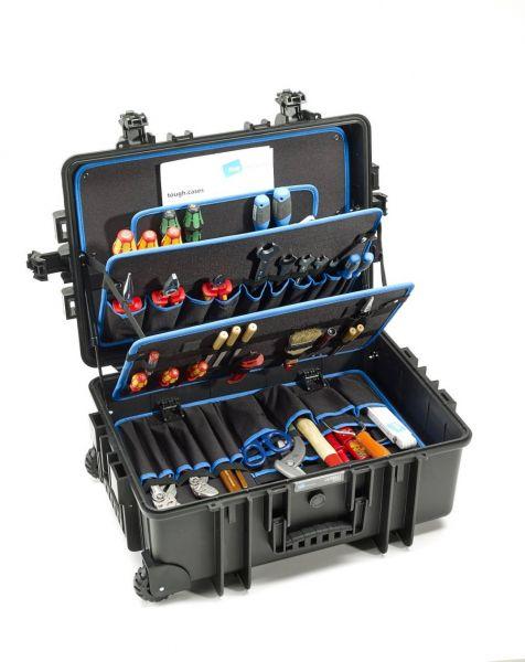 B&W JUMBO 6700 Trolley-Werkzeugkoffer POCKETS 2 Rollen