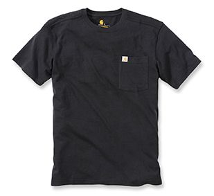 Carhartt Kurzärmliges Shirt aus Baumwolle-Jersey mit Rundhalsausschnitt