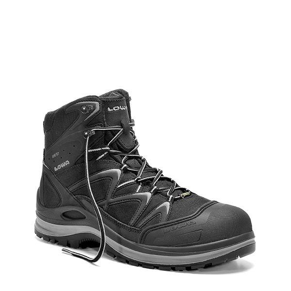 ELTEN INNOX Work GTX® grey Mid S3 Sicherheitsschnürstiefel