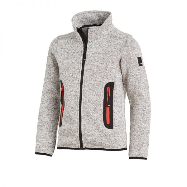 "FHB Strick Fleece Jacke Kinder ""Mats"""