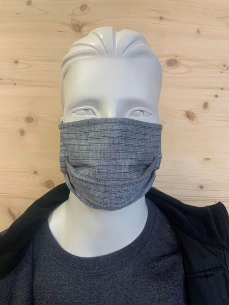 Alltagsmaske grau