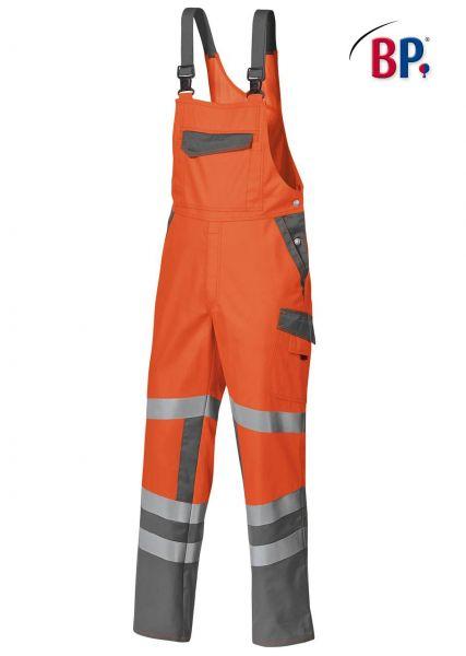 BP Warnschutz Latzhose 2111 orange grau