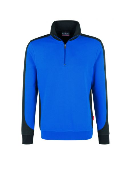 Hakro Zip-Sweatshirt Contrast Performance 476